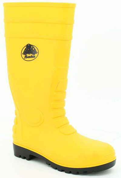 Bata Industrials Safety Boots - Gumboot-Yellow-S5