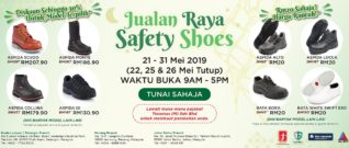 Safety Shoes Raya Sale